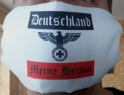 Deutschland - Meine Heimat Reichsadler - Tuch