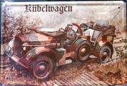 Horch Kübelwagen - Blechschild