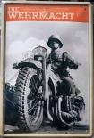 Wehrmacht Motorrad II - Blechschild