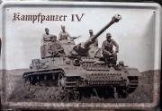 Panzerkampfwagen IV G - Blechschild