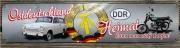 Ostdeutschland, Heimat kann man nicht kaufen II - Blechschild