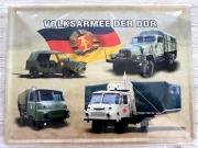 NVA - Nationale Volksarmee der DDR - Blechschild 30x40cm
