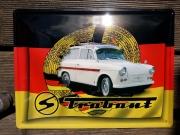 Trabant - Blechschild 30x40 cm
