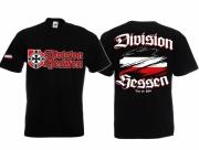 Hessen Division - Treu der Fahne - T-Shirt schwarz
