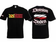 Baden Division - Vergiss niemals die Heimat - T-Shirt schwarz
