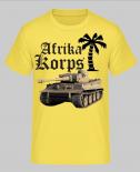 Afrika Korps Tiger Panzer - T-Shirt