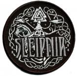 Sleipnir - Das achtbeinige Pferd des Gottes Odin - Aufnäher