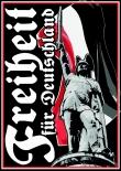 Freiheit für Deutschland - 80 Aufkleber