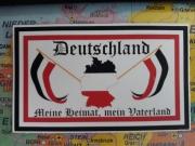 Deutschland - Meine Heimat, mein Vaterland - Aufkleber