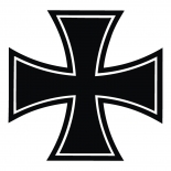 Eisernes Kreuz - Aufkleber