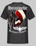 Heimwehr Sachen-Anhalt Rückendruck - T-Shirt