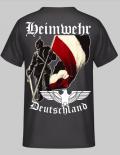 Heimwehr Deutschland Rückendruck - T-Shirt