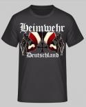 Heimwehr Deutschland Frontdruck - T-Shirt