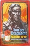 Luftwaffe Pilot - Tag der Wehrmacht - Blechschild