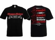Baggerfahrer - Schaufel um Schaufel für das Deutsche Vaterland - T-Shirt schwarz