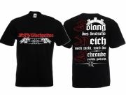 KFZ-Mechaniker - Die Schraube wird rechts gedreht - T-Shirt schwarz