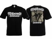 Wehrmacht Hausbesuche - T-Shirt schwarz