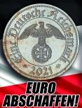 Deutsche Reichsmark - Aufkleber