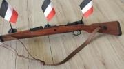 Mauser Karabiner 98k Deko Modellwaffe mit Gurt