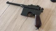 Mauser C96 Pistole Deko Modellwaffe