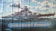 Flagge/Fahne Schlachtschiff Bismarck II