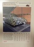 Deutsche Panzer - Kalender 2019