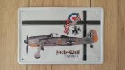Focke Wulf 190A Blechschild