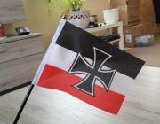 Deutsches Reich Reichskrisgflagge - Tischfahne
