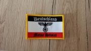 Deutschland - Meine Heimat - Aufnäher