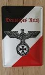 Deutsches Reich Reichsadler - Blechschild