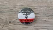 Deutschland - Meine Heimat - 56mm Anstecker schwarz