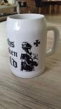 Wehrmacht Biertrinker - Bierkrug