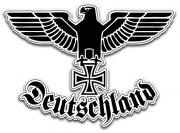 Reichsadler Deutschland II - Aufkleber(wasserfest)