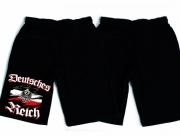 Deutsches Reich - Kurze Hose schwarz