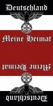Deutschland - Meine Heimat - Tuch 50 cm x 24,5 cm