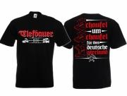Tiefbauer - Schaufel um Schaufel für das deutsche Vaterland - T-Shirt schwarz