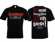 Lackierer - Damit Deutschland weiss bleibt! - T-Shirt schwarz