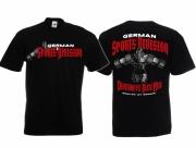 Division German Sport Heil - T-Shirt schwarz
