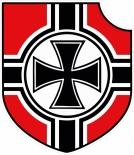 Das Eiserne Kreuz Emblem - Aufkleber(wasserfest)