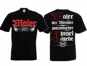 Maler - Der Meister - T-Shirt schwarz