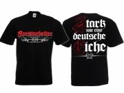 Forstarbeiter - T-Shirt schwarz