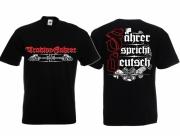 Traktor-Fahrer - T-Shirt schwarz