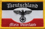 Deutschland - Mein Vaterland - Aufnäher