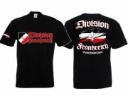 Legion Frankreich - T-Shirt schwarz