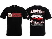 Österreich Division - T-Shirt schwarz