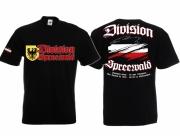 Spreewald Division - T-Shirt schwarz