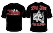 Deutsches Blut - das durch unsere Venen fließt, werdet ihr niemals haben - T-Shirt schwarz