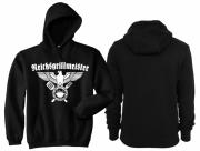 Reichsgrillmeister - Kapuzenpullover schwarz