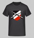 Karabiner 98k Schwarz/Weiss/Rot - T-Shirt