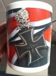 Ritterkreuz mit Eichenlaub und Schwertern - 4 Tassen